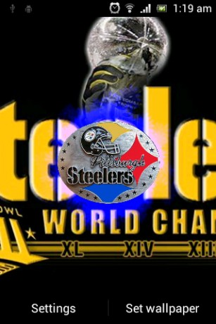 Download Pittsburgh Steelers Live Wallpaper Gallery