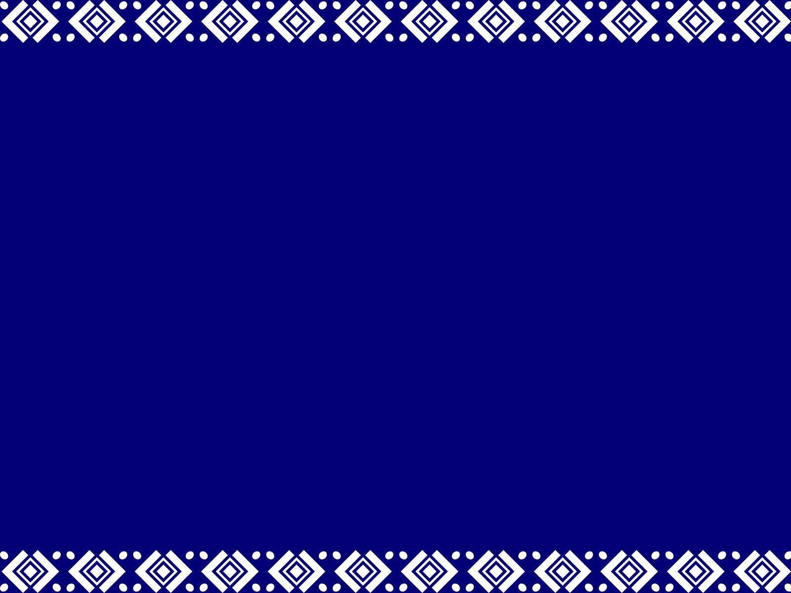 Plain Blue Wallpaper Border