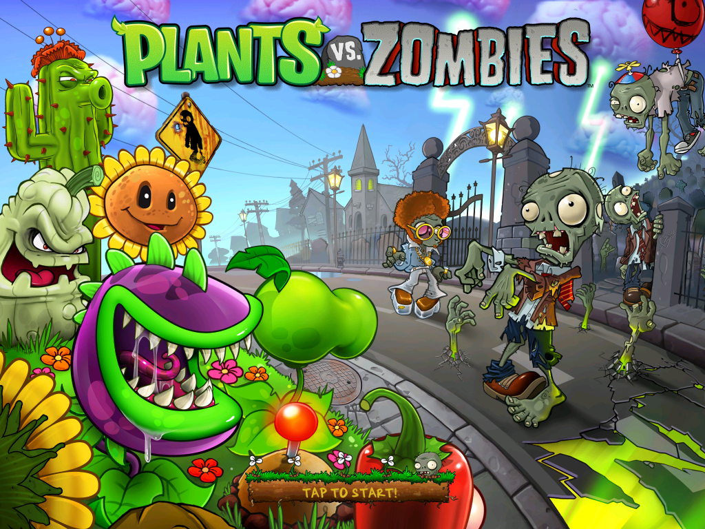 Plants Vs Zombie Wallpaper