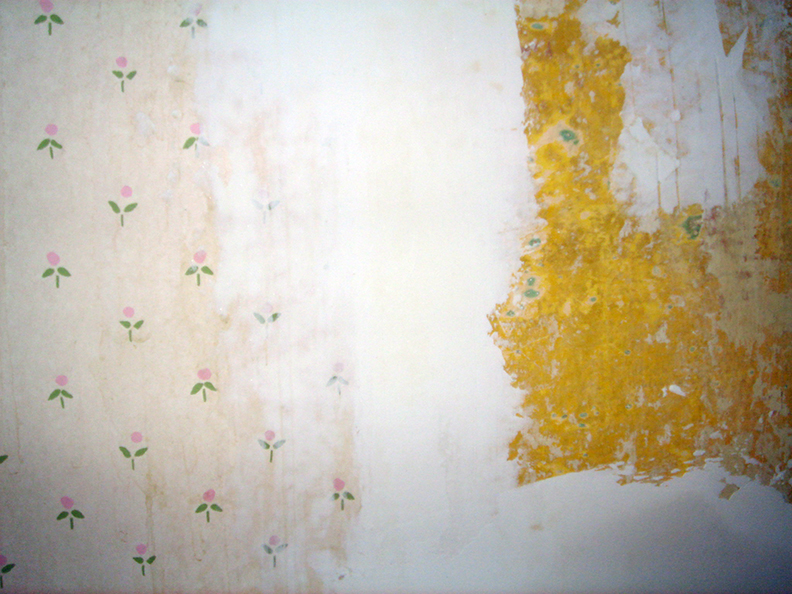 Plastering Over Wallpaper