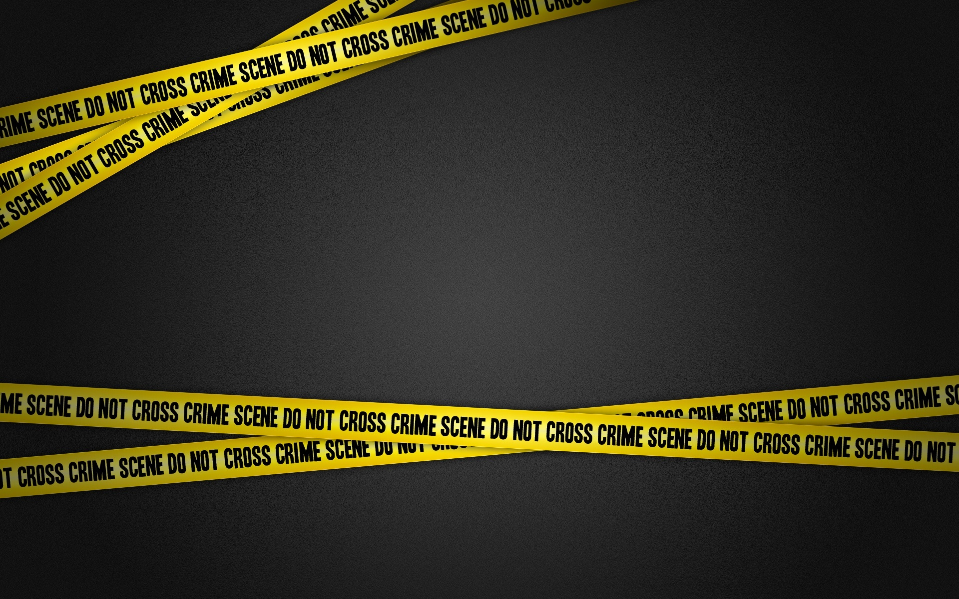 Police Tape Wallpaper