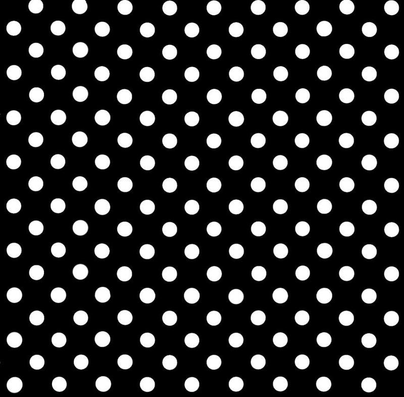 Polka Dot Wallpaper Black White