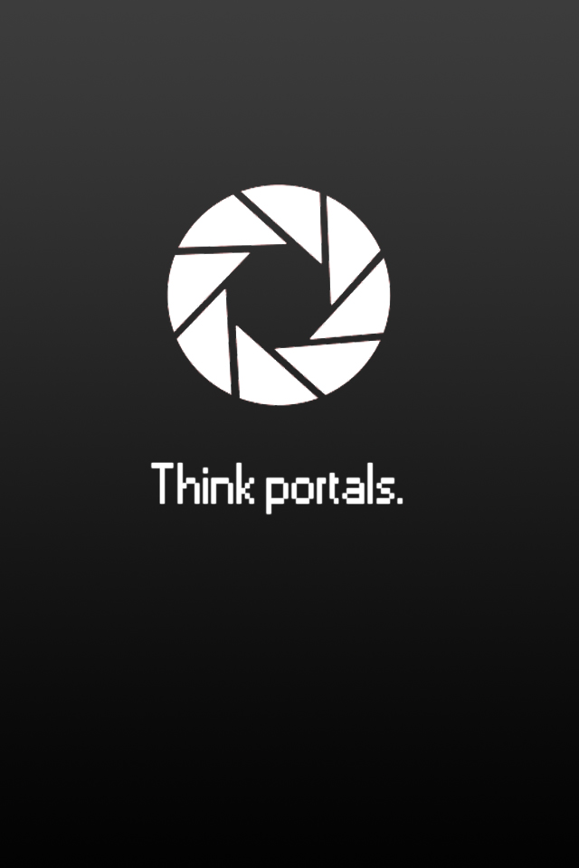 Portal Iphone Wallpaper