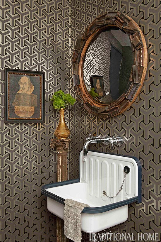Powder Room Wallpaper