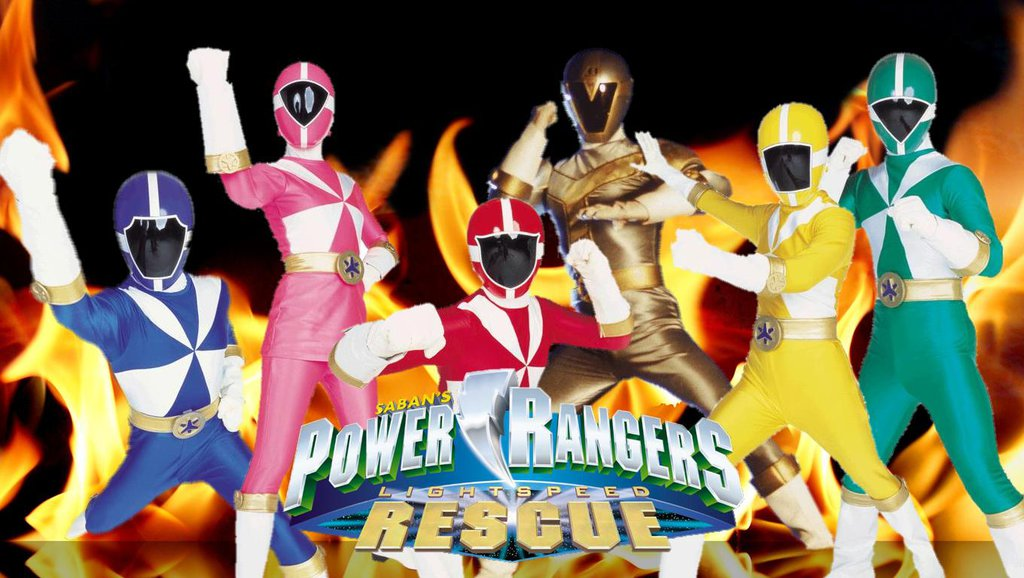 Power Rangers Lightspeed Rescue Wallpaper