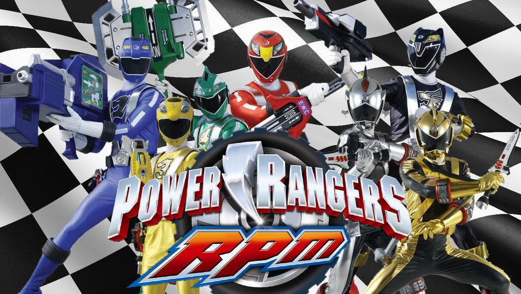 Power Rangers Rpm Games For Kids