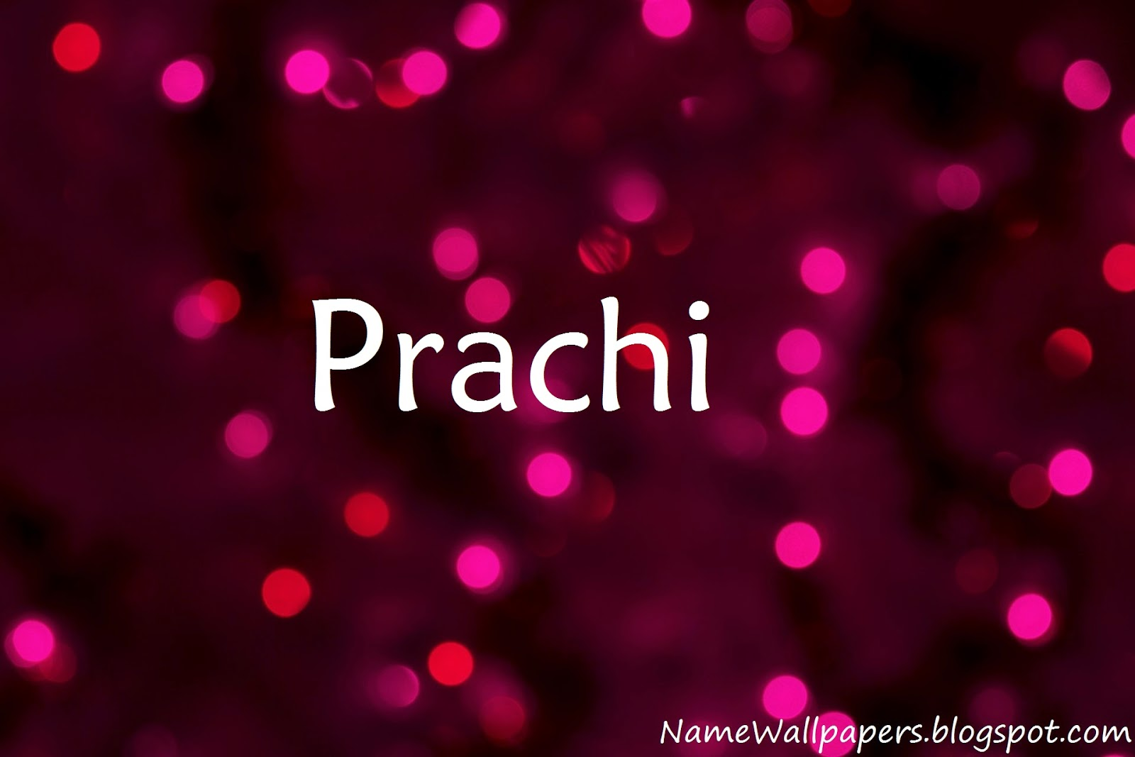 Prachi Name Wallpaper