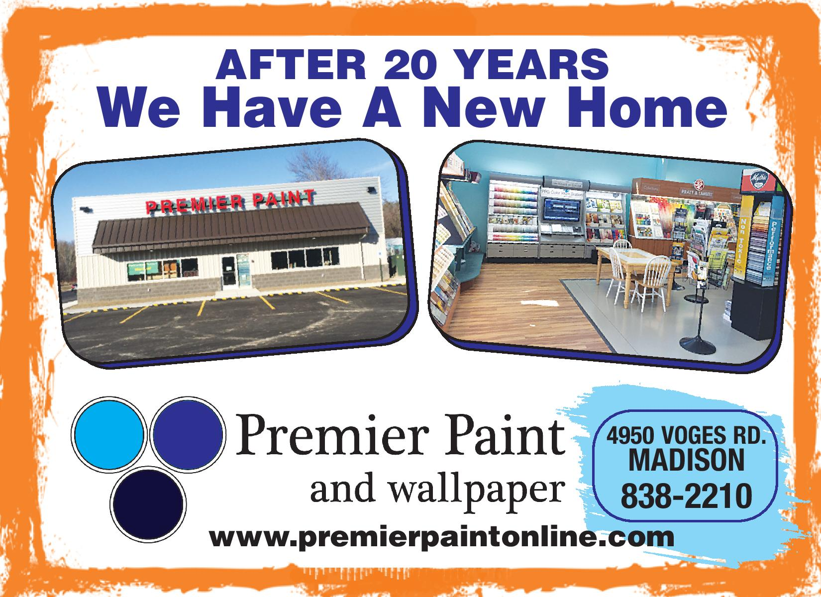 Premier Paint And Wallpaper