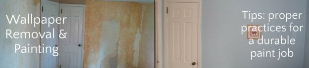 Preparing Wallpapered Walls For Painting