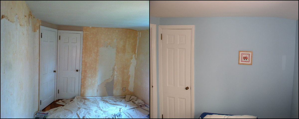 Preparing Walls For Painting After Wallpaper Removal