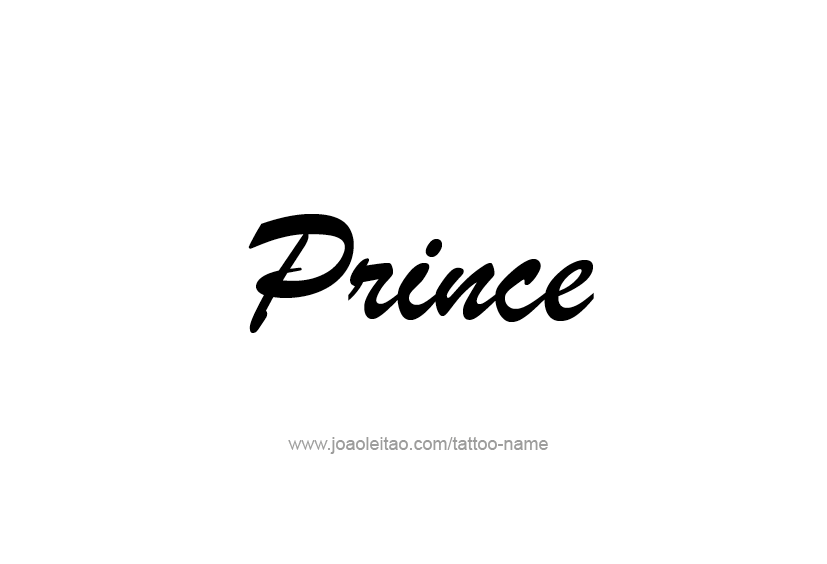 Prince Word Wallpaper
