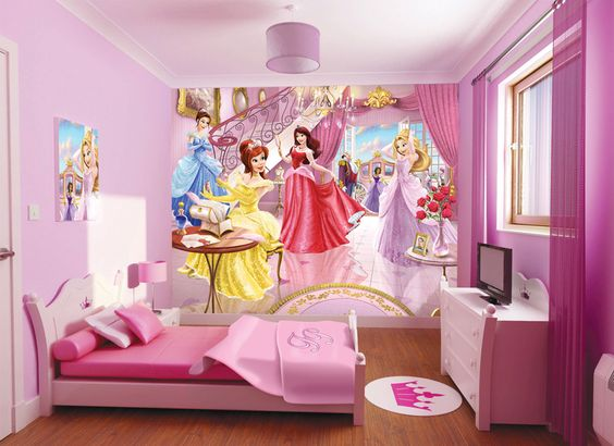 Princess Room Wallpaper