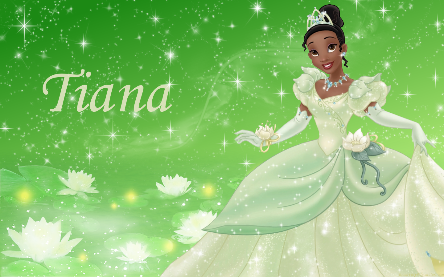 Princess Tiana Wallpaper