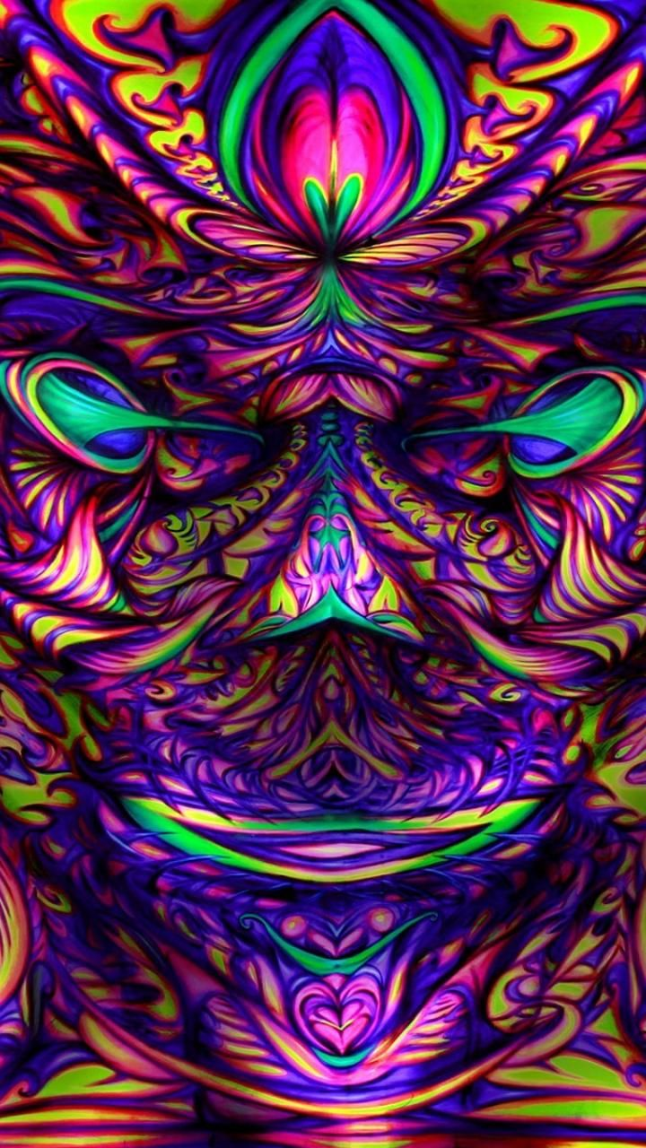 Psychedelic Android Wallpaper