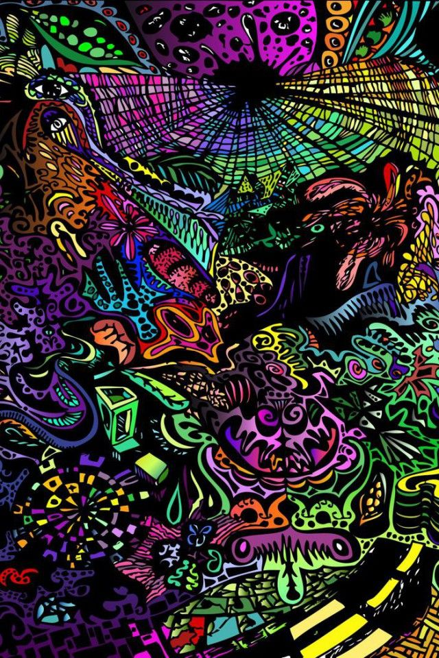 Psychedelic Iphone Wallpaper