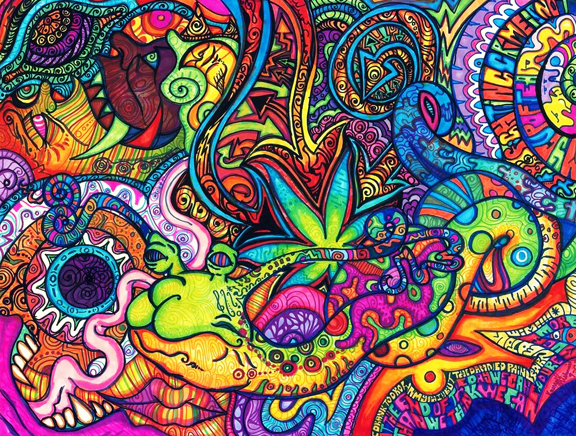 Psychedelic Wallpaper For Walls