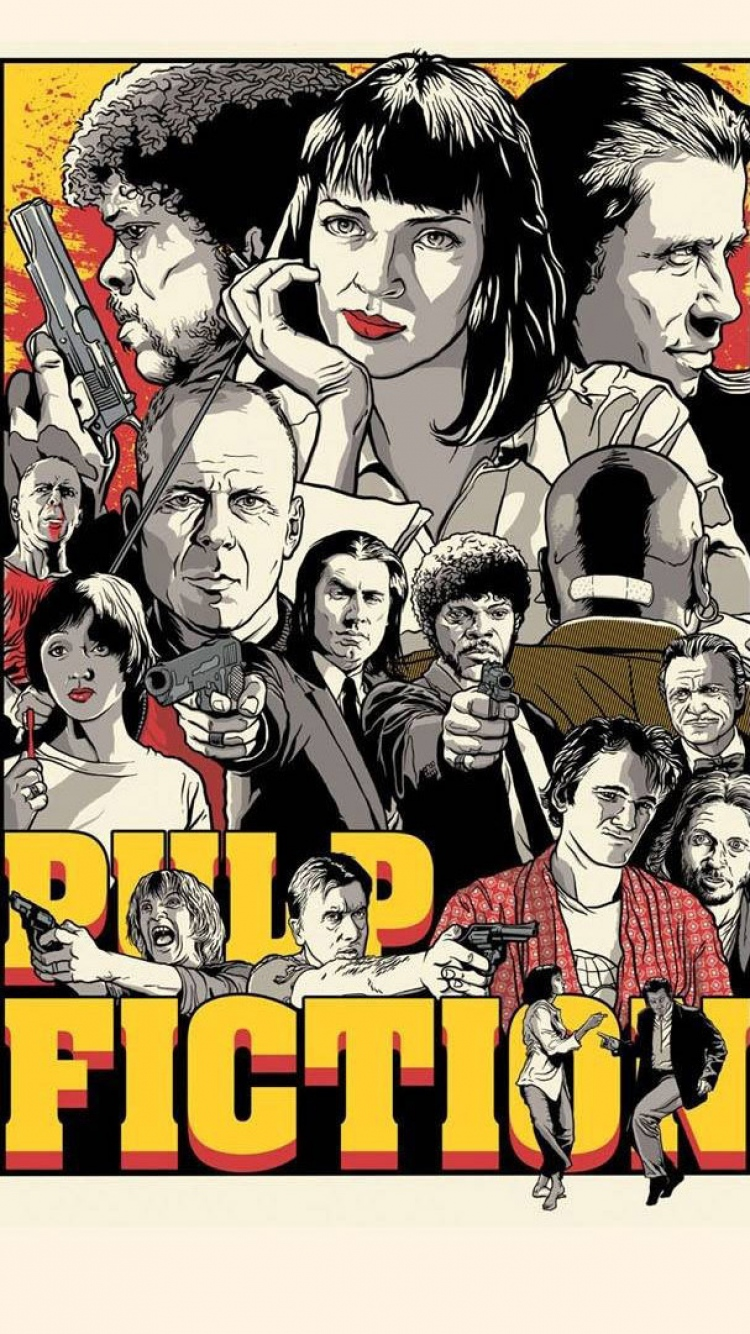 Pulp Fiction Iphone Wallpaper