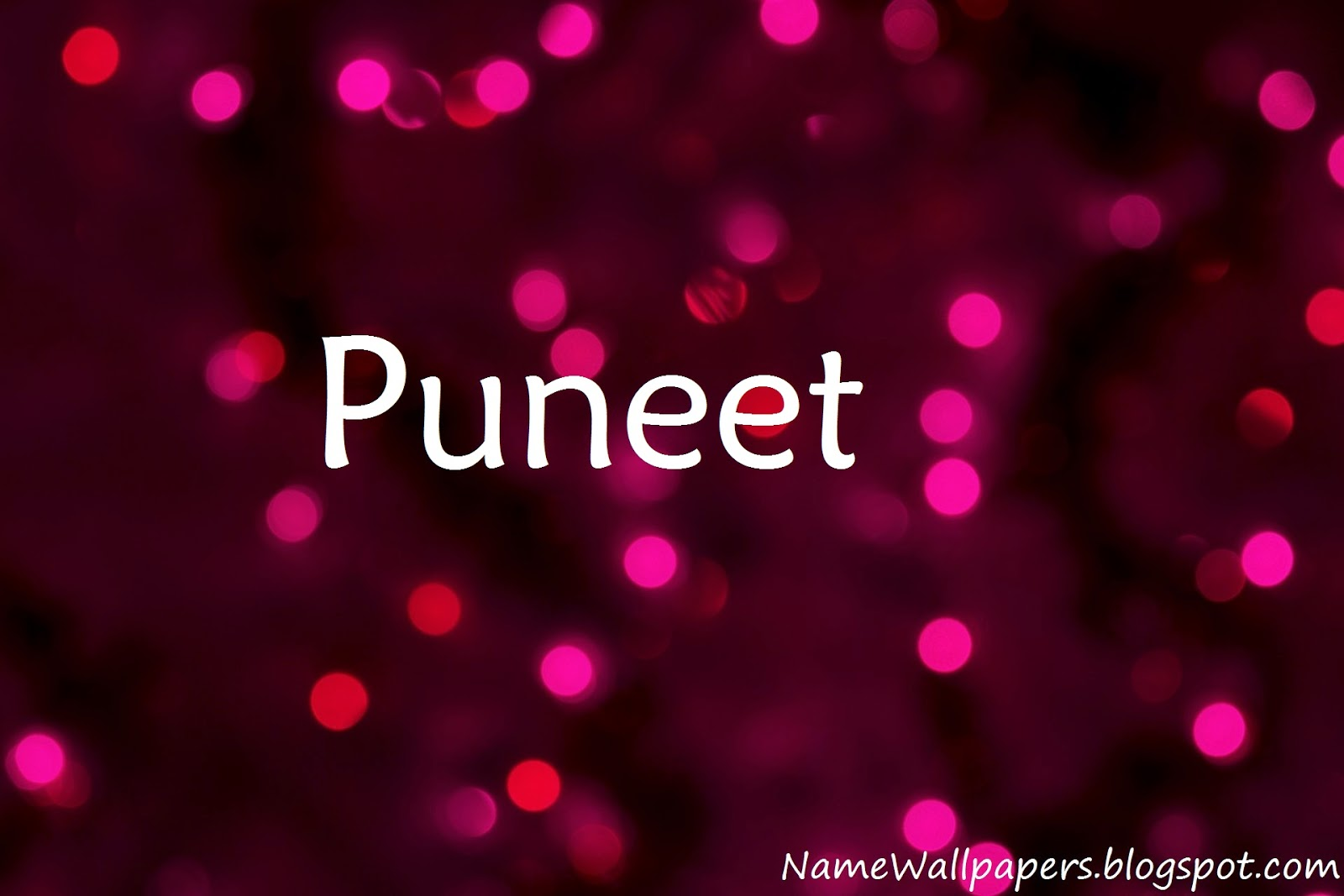Puneet Name Wallpapers