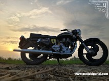 Punjabi Bullet Bike Wallpaper