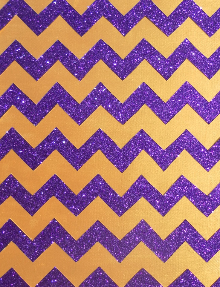 Purple And Gold Wallpaper