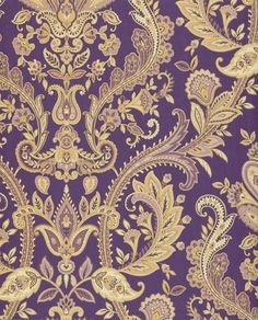 Purple And Gold Wallpaper Uk