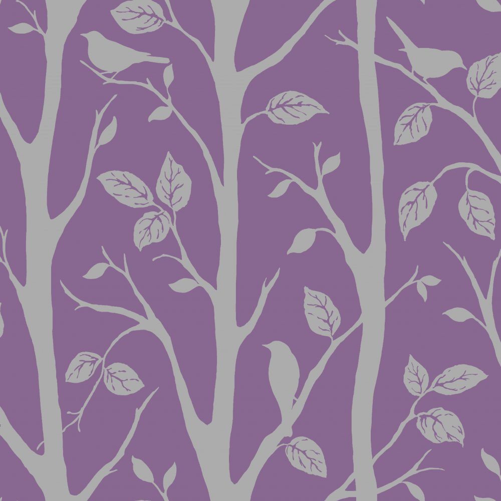 Purple And Silver Wallpaper Uk
