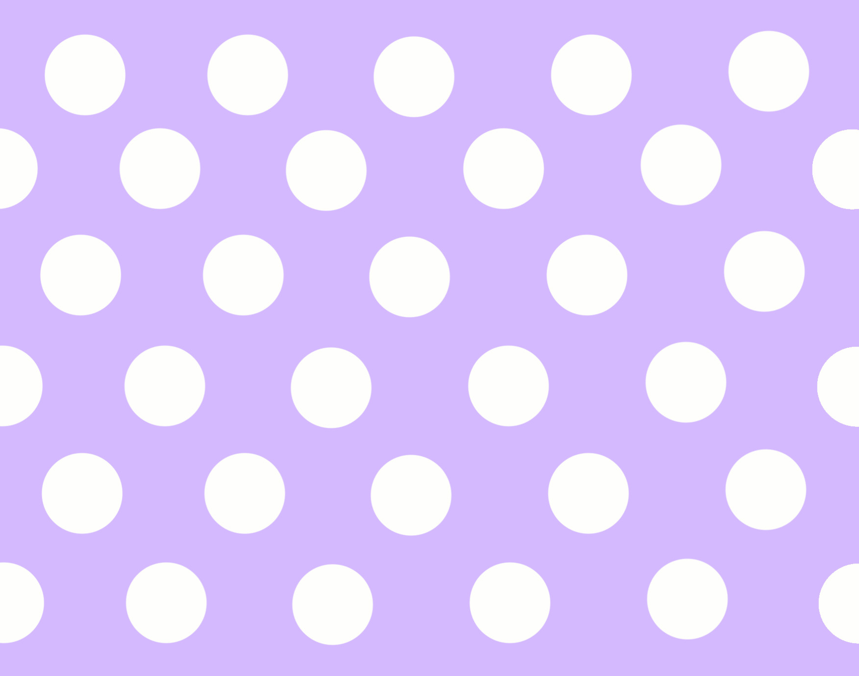 Purple And White Polka Dot Wallpaper