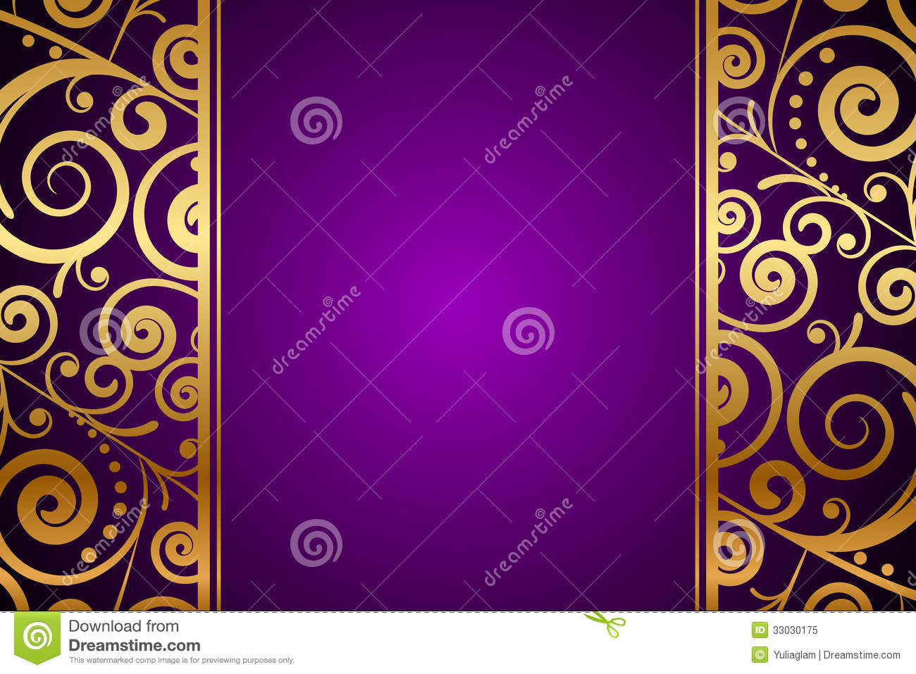 Purple Gold Wallpaper