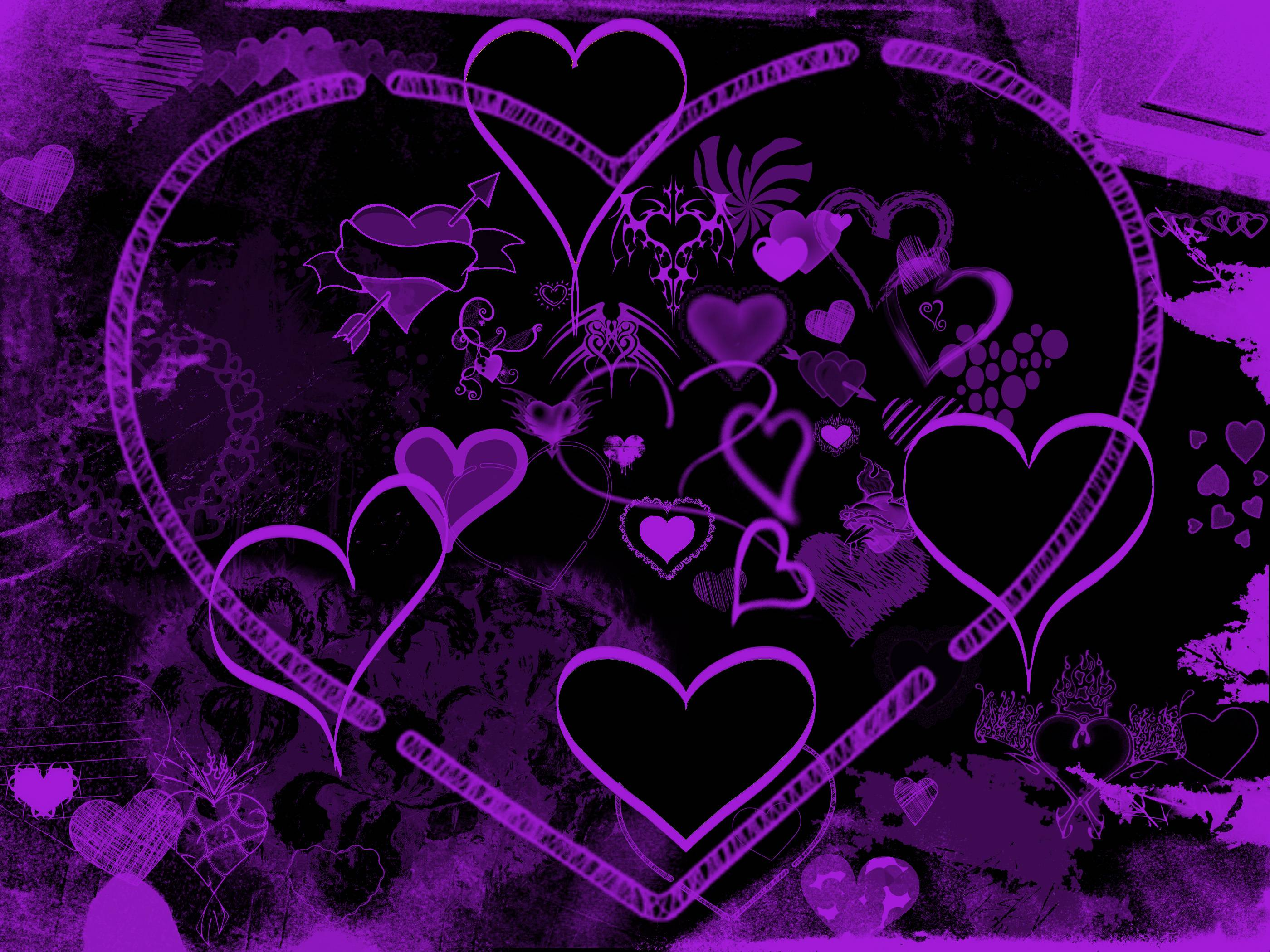Purple Heart Wallpaper