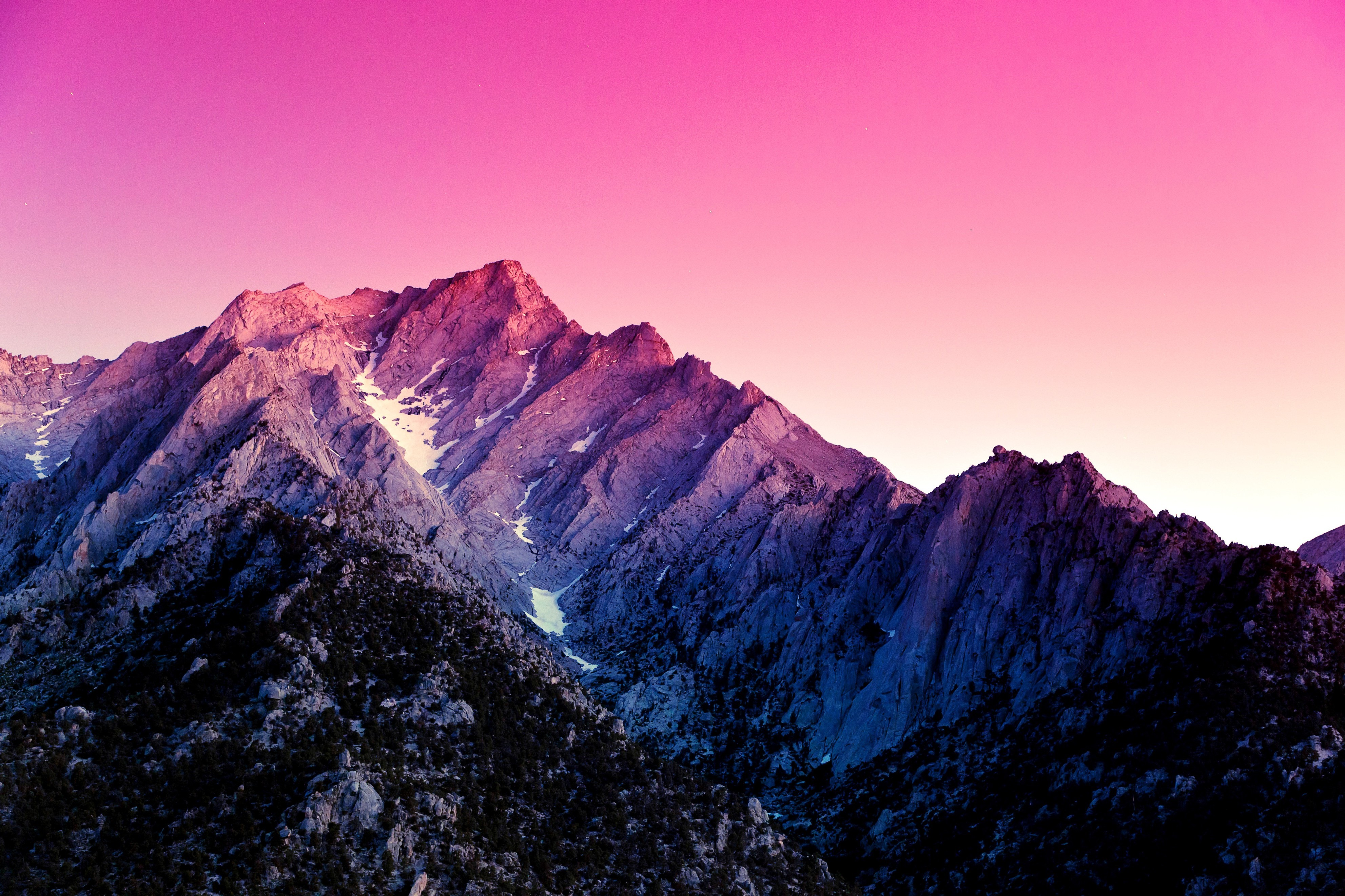Purple Mountain Wallpaper