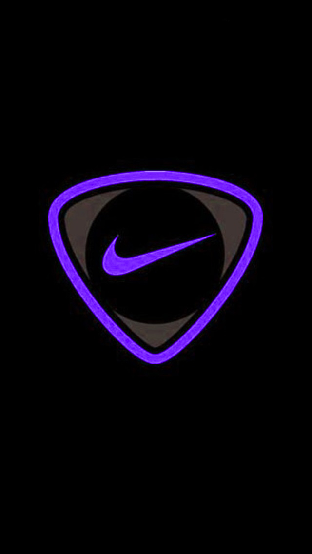 Purple Nike Wallpaper