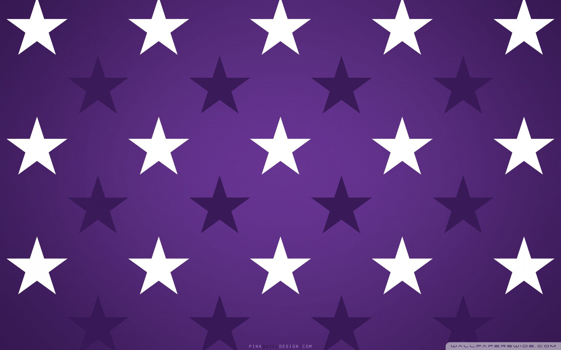 Purple Stars Wallpaper