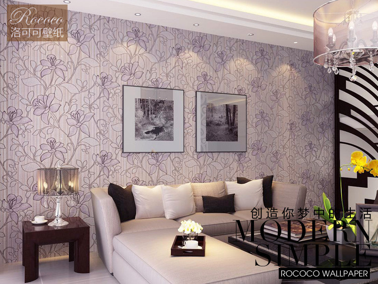 purple wallpaper living room purple wallpaper living room gallery 15096