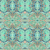 Quadrille Wallpaper For Sale