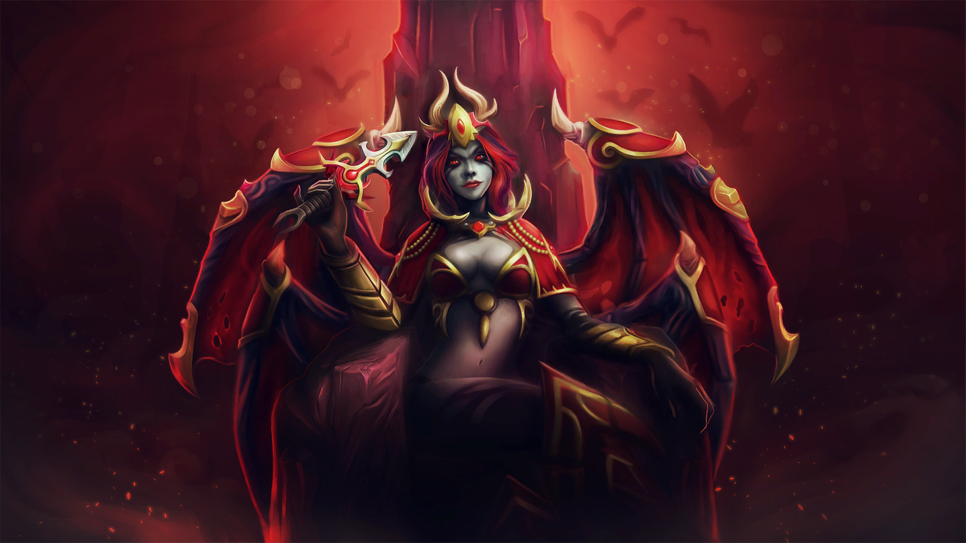 Queen Of Pain Wallpaper