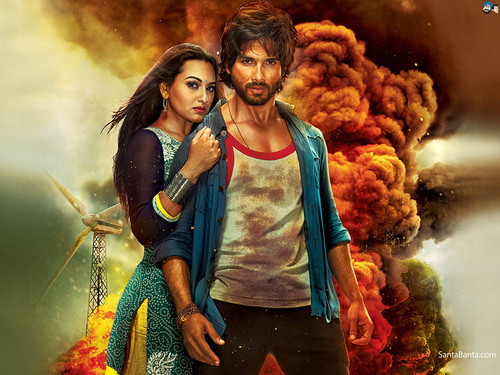 R Rajkumar Movie Wallpaper