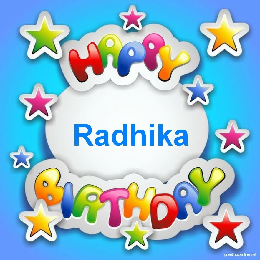 Radhika Name Wallpaper