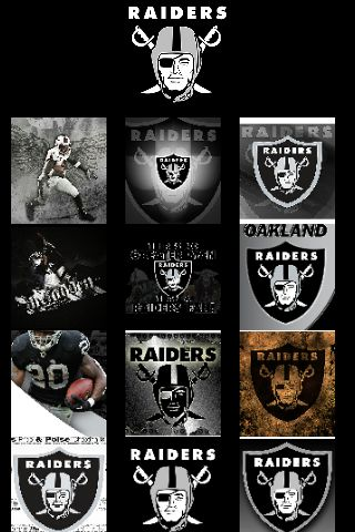 Download raiders wallpapers free gallery png 320x480 Oakland raiders screensavers wallpaper
