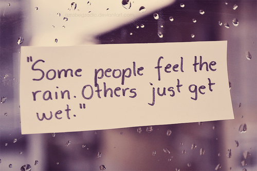 Rain Quotes Wallpaper