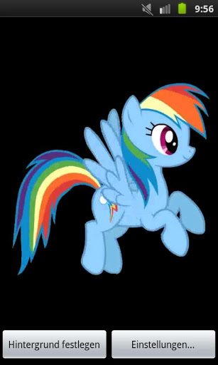 Rainbow Dash Live Wallpaper