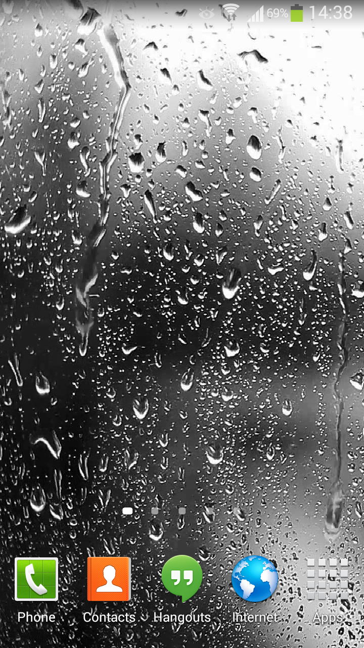 Raindrops Live Wallpaper HD Apk