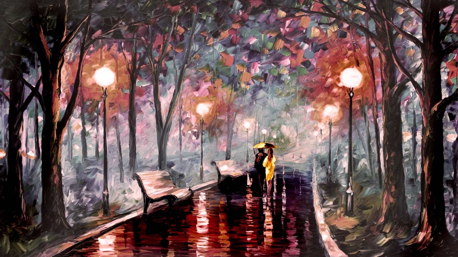 Download Rainy Day Couple Wallpaper Gallery