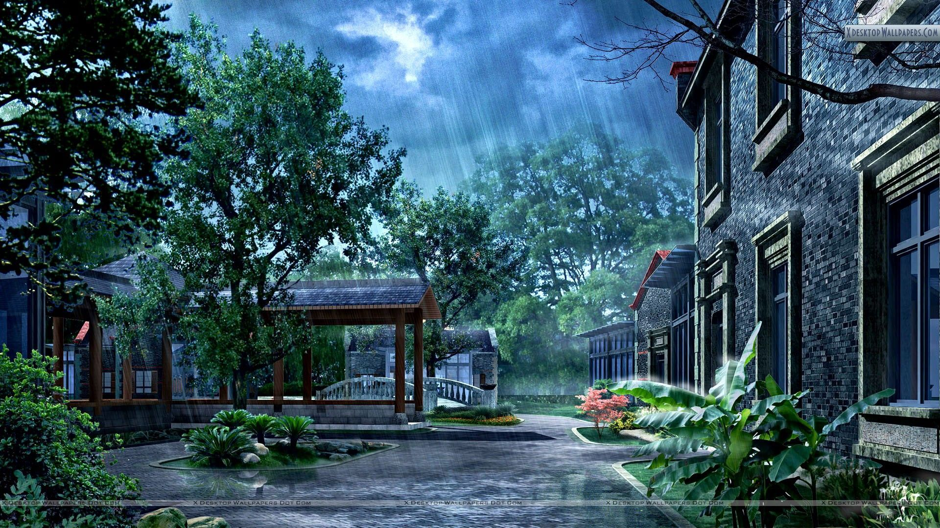 Rainy Day Wallpapers