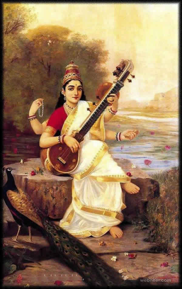 Download Raja Ravi Varma Paintings Wallpapers Gallery