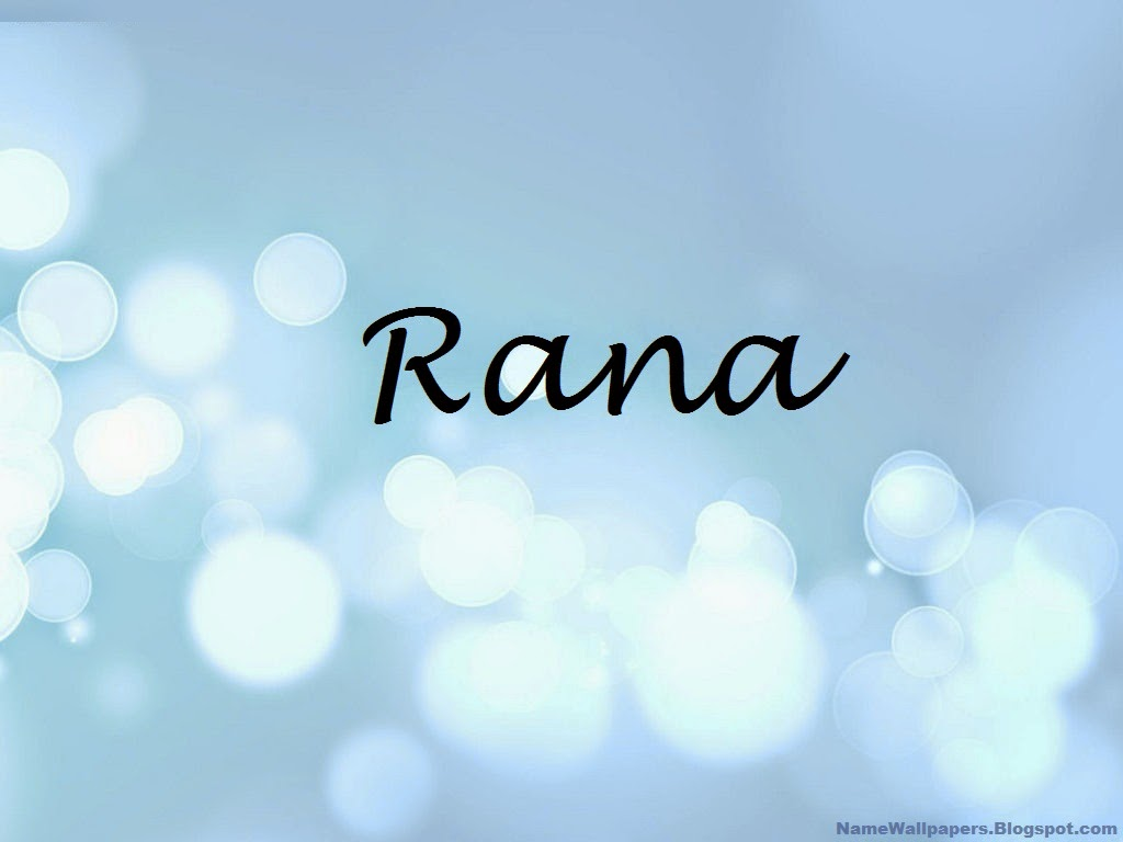 Rana Name Wallpaper