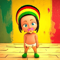 Rasta Baby Wallpaper
