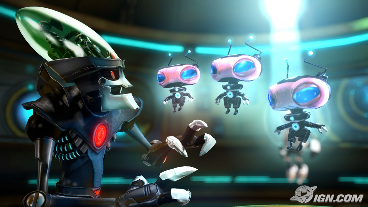 Ratchet And Clank A Crack In Time Wallpaper