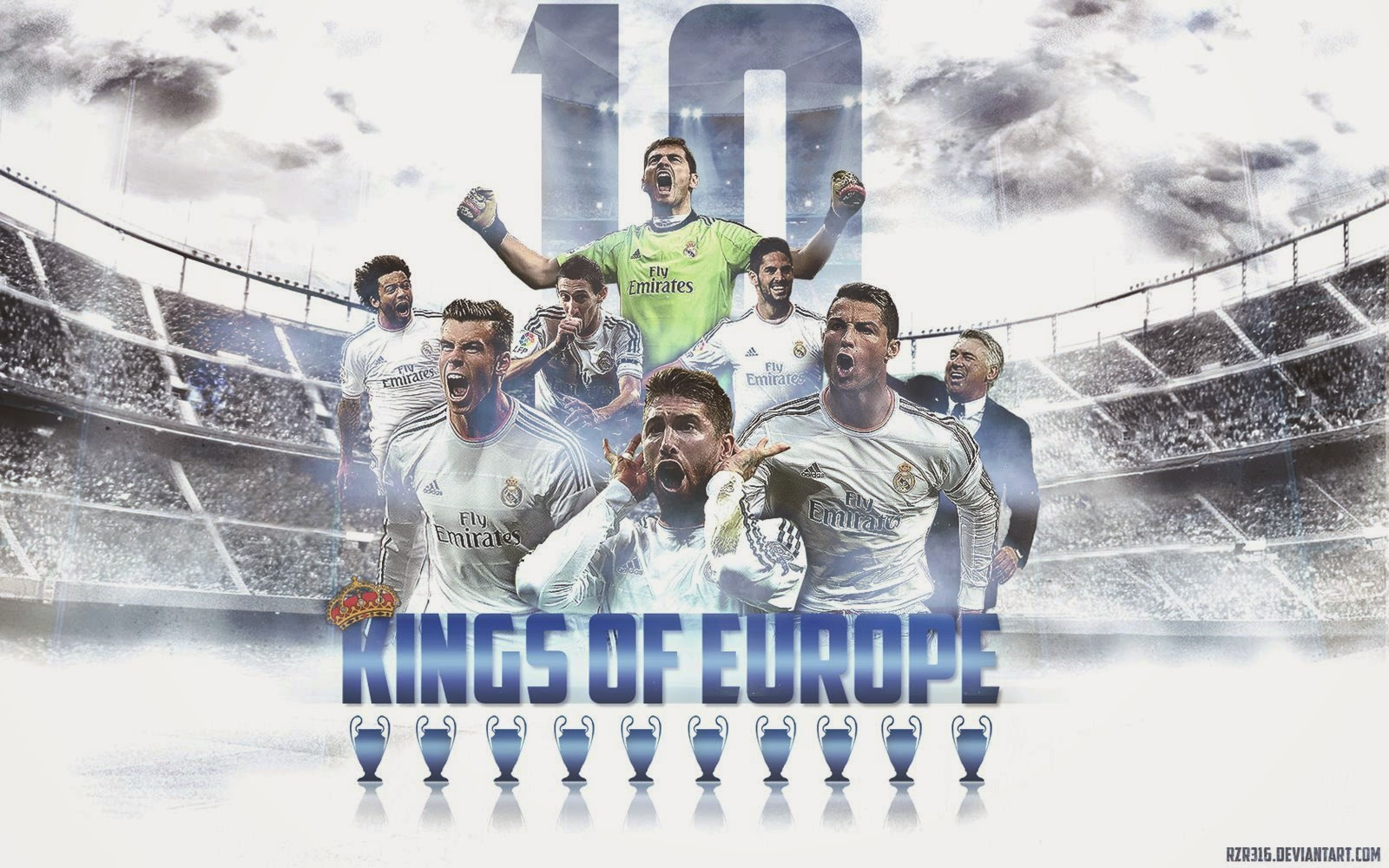 Real Madrid La Decima Wallpaper