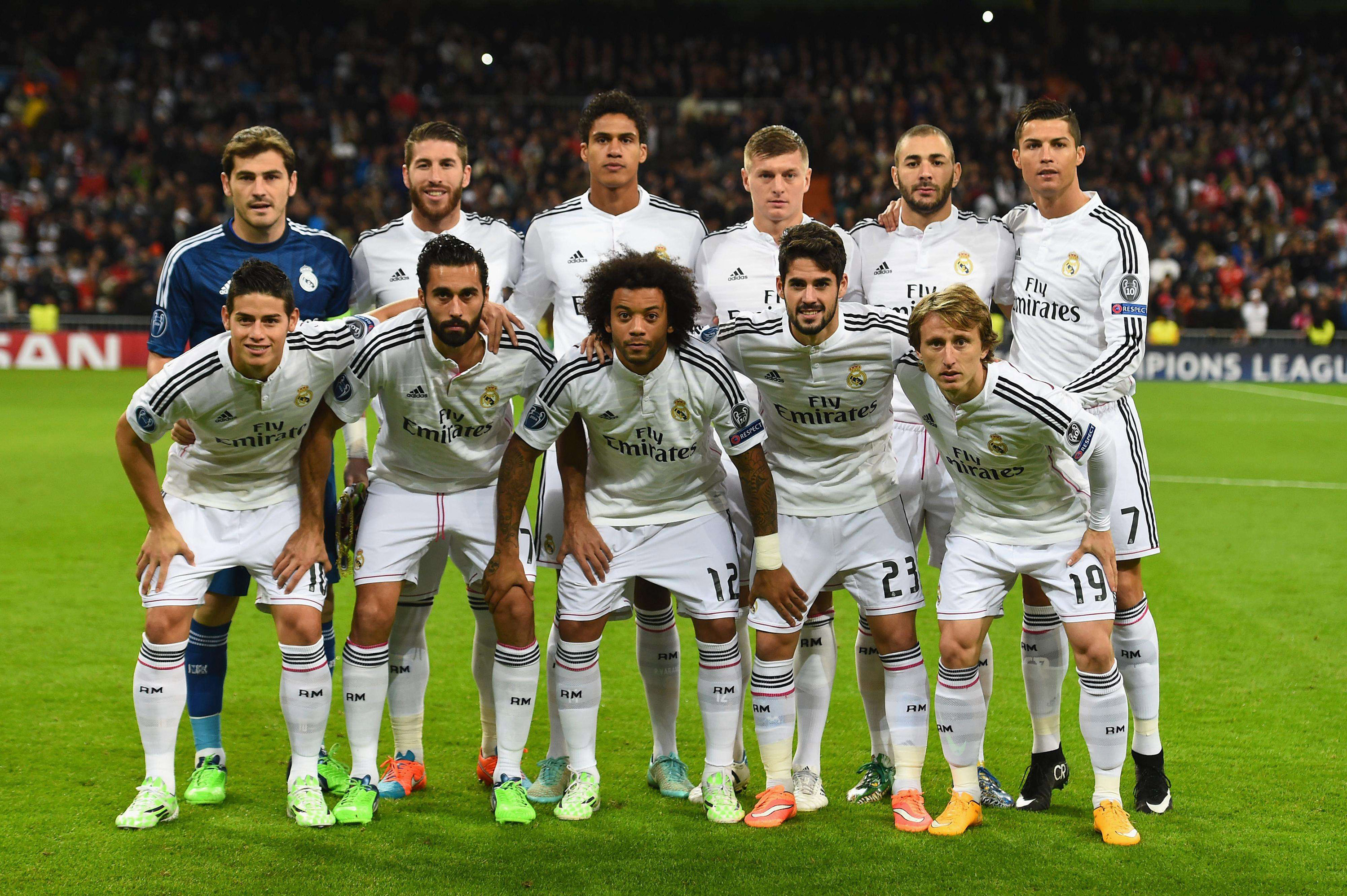Real Madrid Team Wallpaper