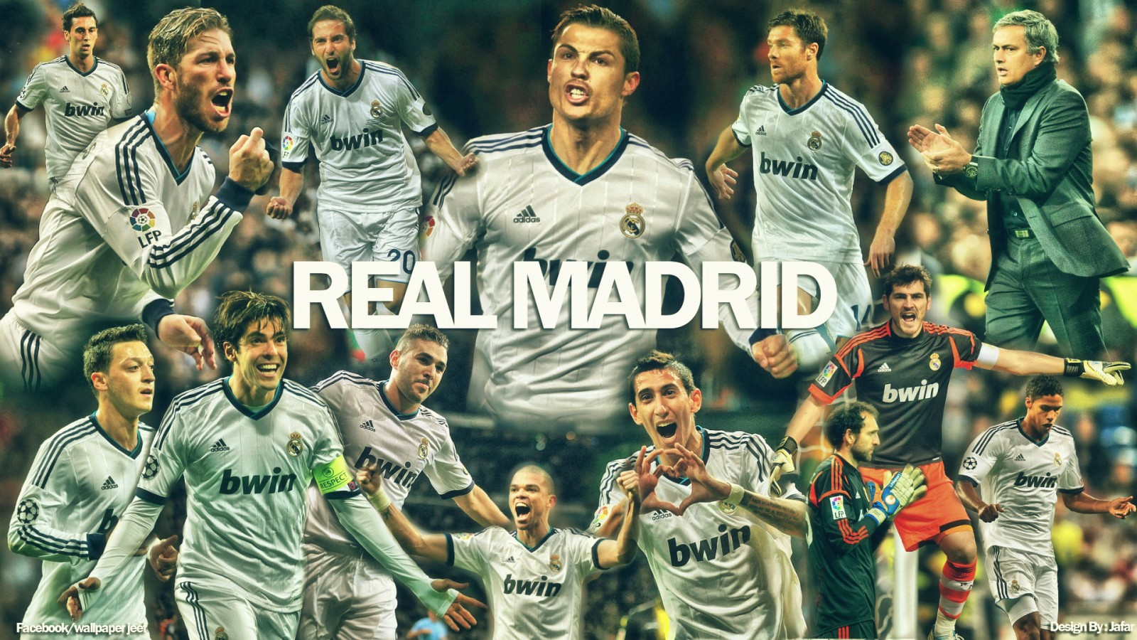 Real Madrid Team Wallpapers